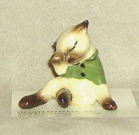 Hagen Renaker Miniature, Little Kitten Lost Mittens