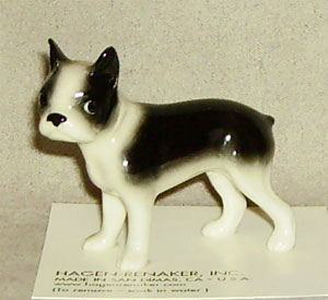 Hagen Renaker Miniature, Boston Terrier