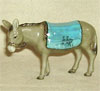 Holiday, Hagen Renaker Miniature, Donkey