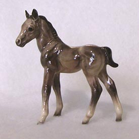 Hagen Renaker Miniature, Thoroughbred Colt